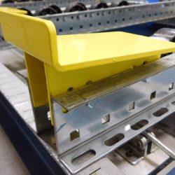 Pallet Flow Ramp Stops| Pallet Flow Racking| Mallard Manufacturing