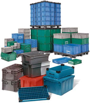 Plastic Tote Containers
