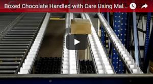 Flanged Wheel Carton Flow Video Test