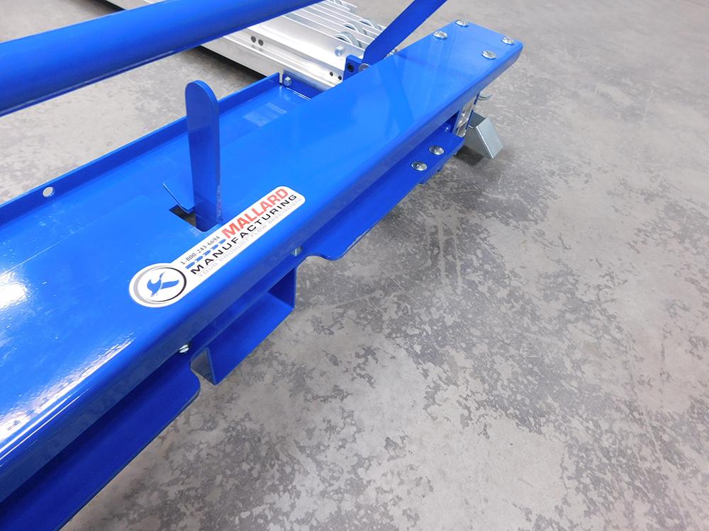 Extend-a-Rail Mobile Pallet Flow| Pallet Flow | Mallard