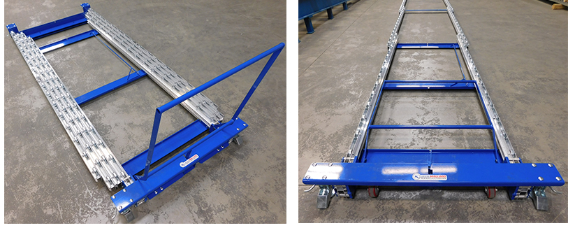 Extend-a-Rail Pallet Flow Rails