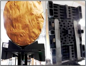 Split-rail pallet flow Mallard Manufacturing