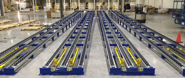 Mallard Flex Separator - Pallet Flow Rack Lanes