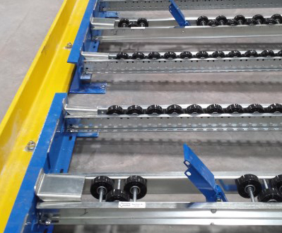 Mallard Layer Pick Separator for Pallet Flow Rack