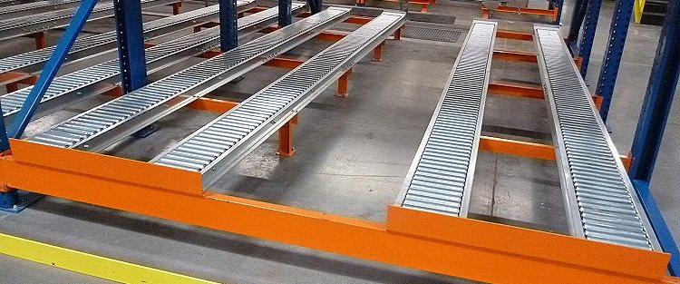 Split Rail Pallet Flow Mallard Manufacturing