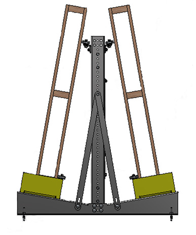 Mallard 2-Sided Vertical Pallet Return