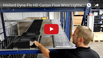 Dyna-Flo HD Carton Flow Test Mallard Manufacturing