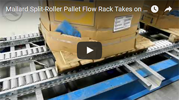 Split Roller Pallet Flow Video Thumbnail