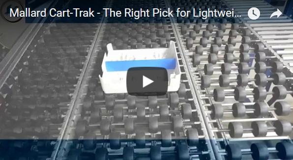 Cart-Trak Carton Flow Test