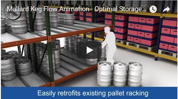 Mallard Keg Flow Storage System