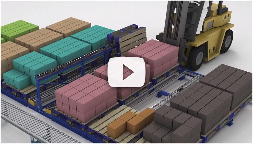 Case Pick Pallet Separator - Mallard Manufacturing