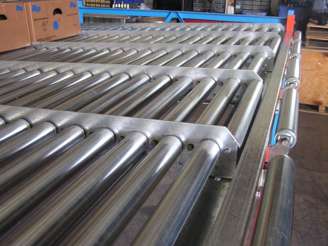 Gravity Conveyor - Malllard Manufacturing