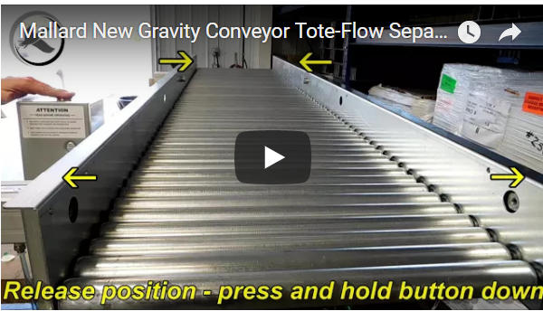 Gravity Conveyor - Mallard Manufacturing