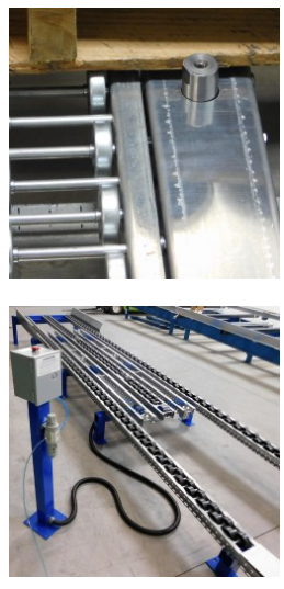 Ergo Cell Pallet Separator for Pallet Flow