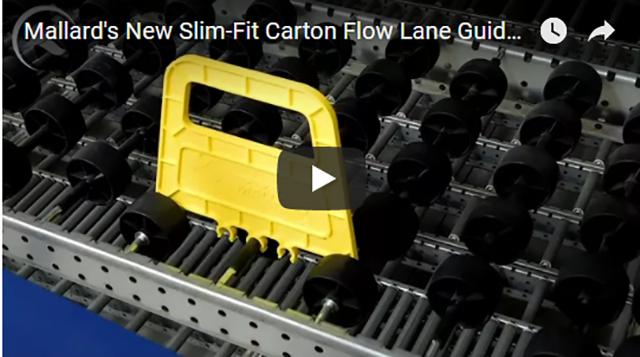 Mallard Slim-Fit Snap-On Carton Flow Guide Video