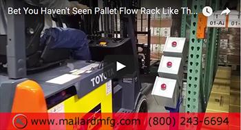 Ergo Cell Pallet Flow Separator