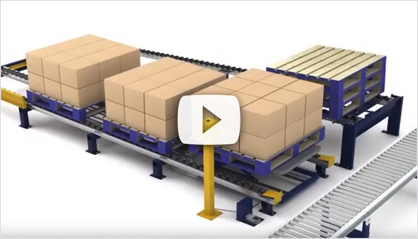 Mallard Manufacturing Ergo Cell Pneumatic Pallet Separator