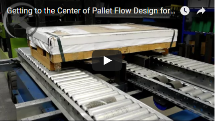 Mallard Pallet Flow Custom Center Rail Entry Guide