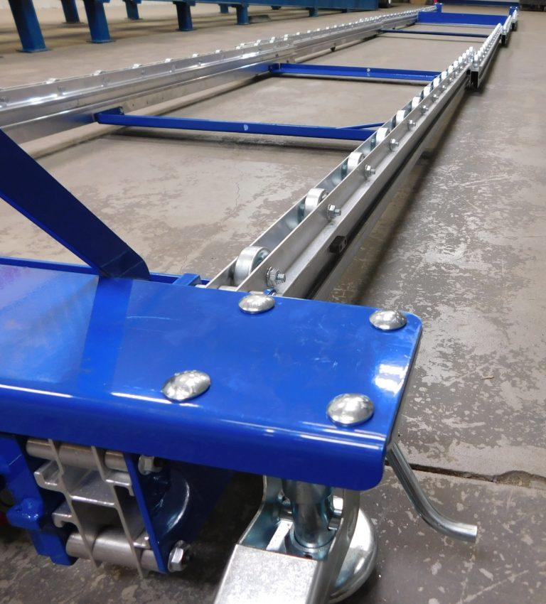 Mobile Pallet Flow | Extendable Pallet Flow | Mallard Manufacturing