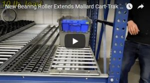 Cart-Trak carton flow Mallard Manufacturing