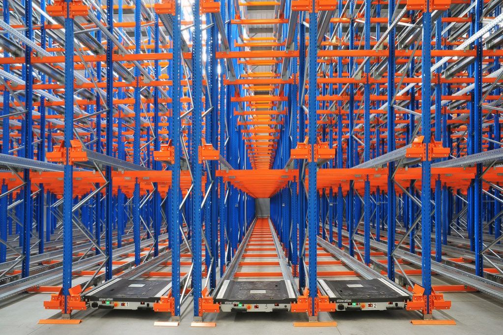 Pallet Shuttle System & Pallet Flow Rack | High-Density Pallet Storage | Mallard Manufacturing