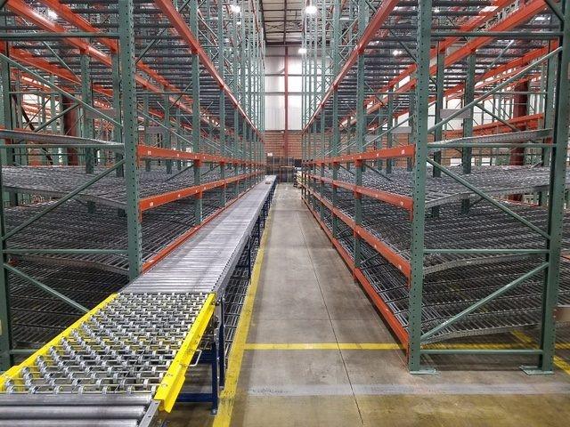 Carton Flow Rack Pick Module - Mallard Manufacturing
