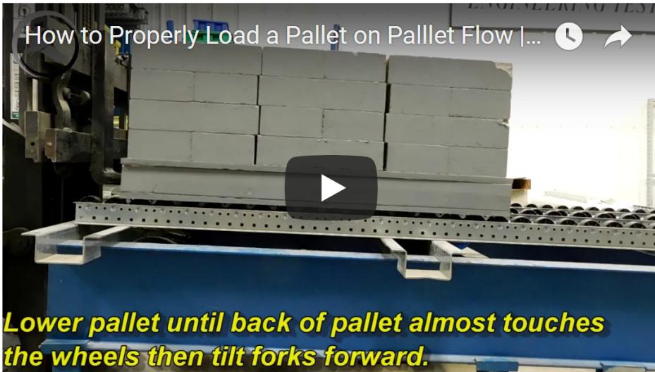 Proper Pallet Flow Loading - Mallard Manufacturing