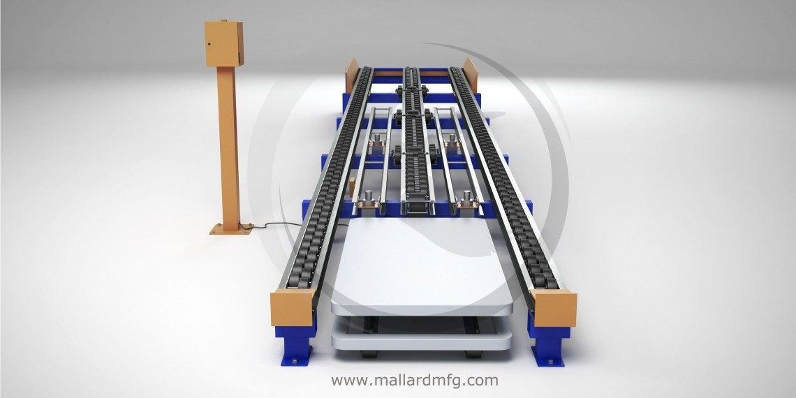 Mallard Manufacturing Ergo Cell Pneumatic Lift Table