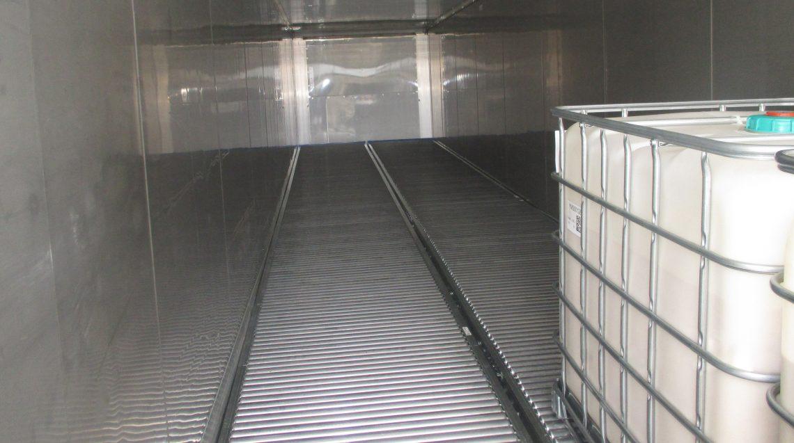Push-Back Pallet Rack - Mallard Manufacturing