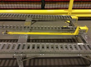 Pallet Flow Rack Flex Separator - Mallard Manufacturing
