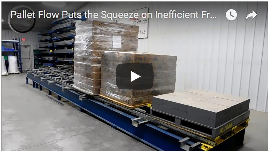 Pallet Flow Freezer Storage - Mallard Manufacturing