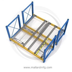 Case Pick Separator for Pallet Flow - Mallard Manufacturing