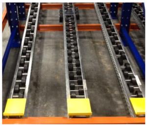 Magnum Wheel Pallet Flow Rack - Mallard Manufacturing