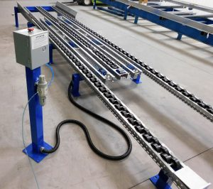 Ergo Cell Pneumatic Separator for Pallet Flow Rack - Mallard Manufacturing
