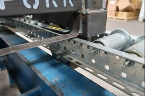 Flanged Roller Pallet Flow Rack - Mallard Manufacturing