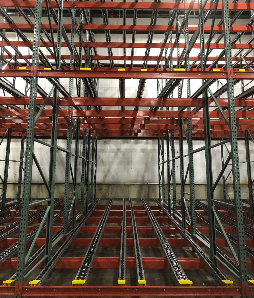 Push-Back Flow Rack - Mallard Manufacturing