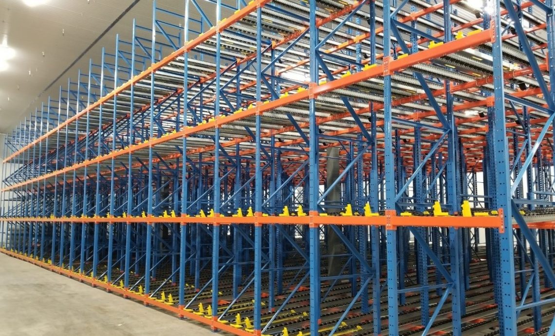 Pallet Flow Rack AGV Integration - Mallard Manufacturing