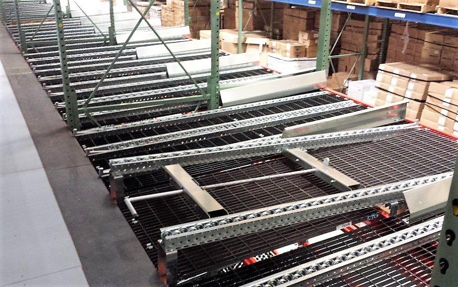 Empty Pallet Return Lanes - Mallard Manufacturing