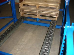 Pallet Flow Empty Pallets - Mallard Manufacturing