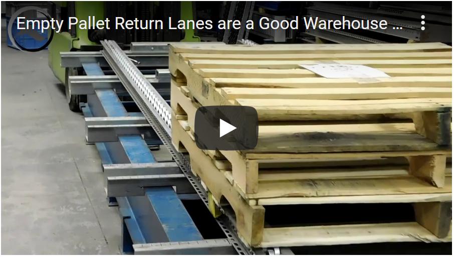 Empty Pallet Return Lane -Mallard Manufacturing
