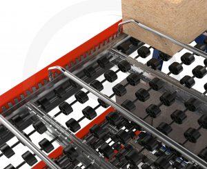 Carton Flow Lane Divider - Mallard Manufacturing