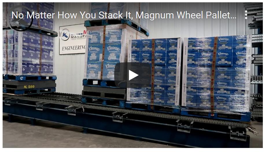 Magnum Wheel Pallet Flow - Mallard Manufacturing