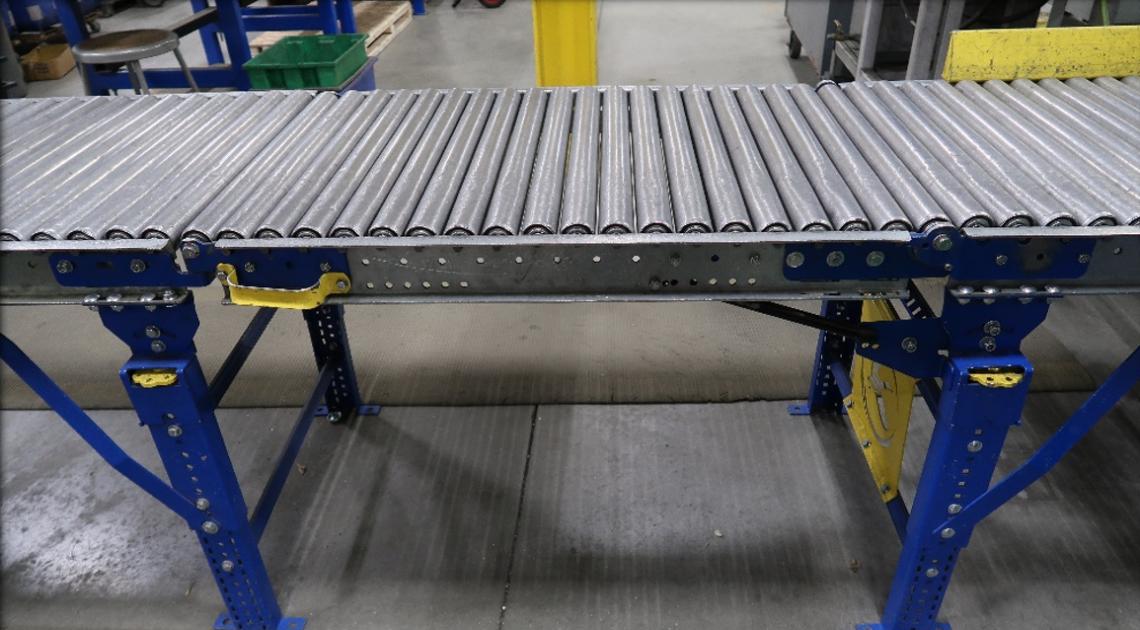 Gravity Conveyor Rack - Mallard Manufacturing