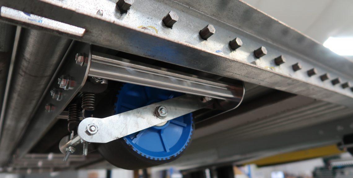 Pallet Flow Brake Assembly - Mallard Manufacturing