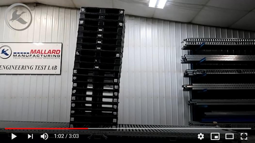 Pallet Flow Rack Design - Mallard Manufacturing