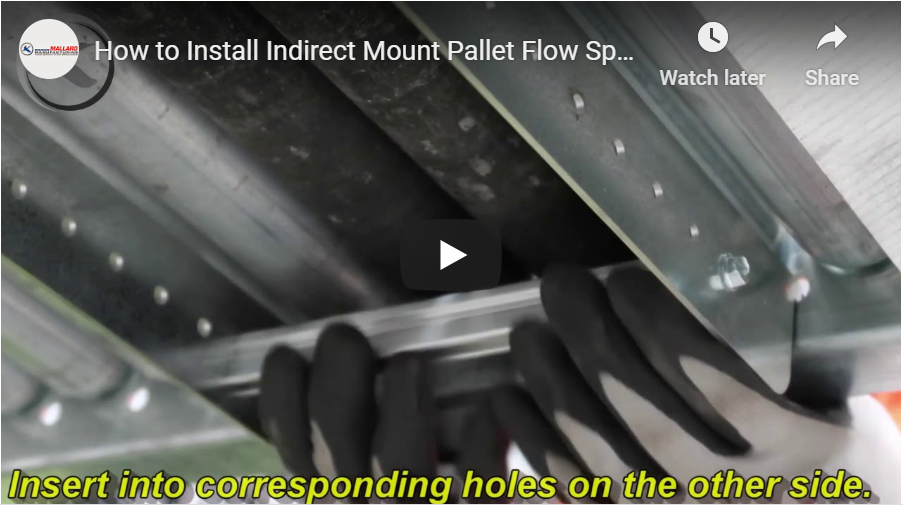 Indirect Mount Pallet Flow Speed Controllers - Mallard Manufacturing