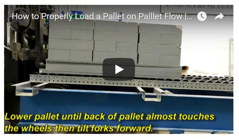 Pallet Flow Forklift Loading - Mallard Manufacturing