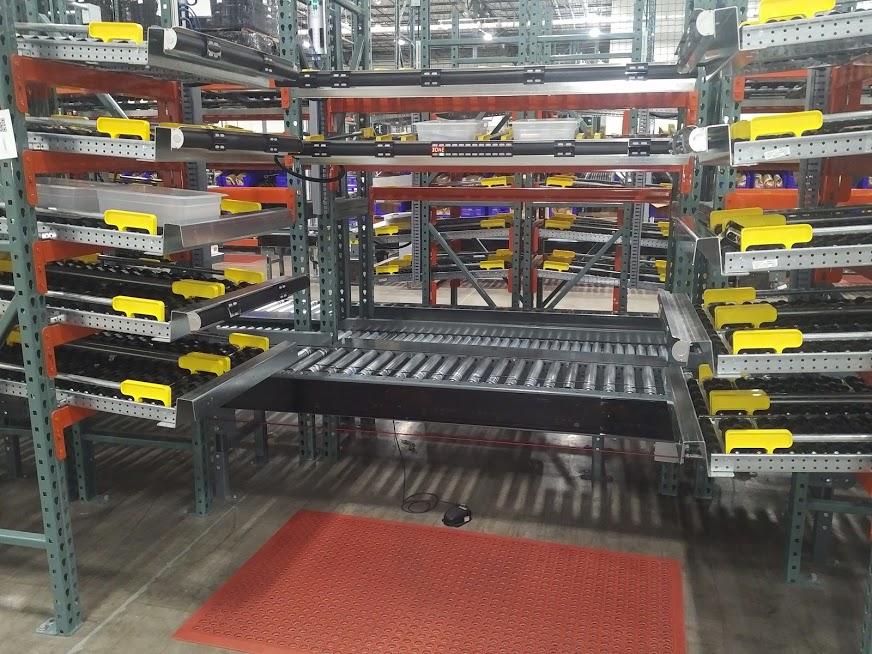 Pick-to-Light Carton Flow Application - Mallard Manufacturing