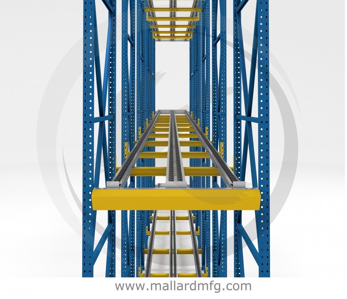 Push-Back Rack - Mallard Manufacturing