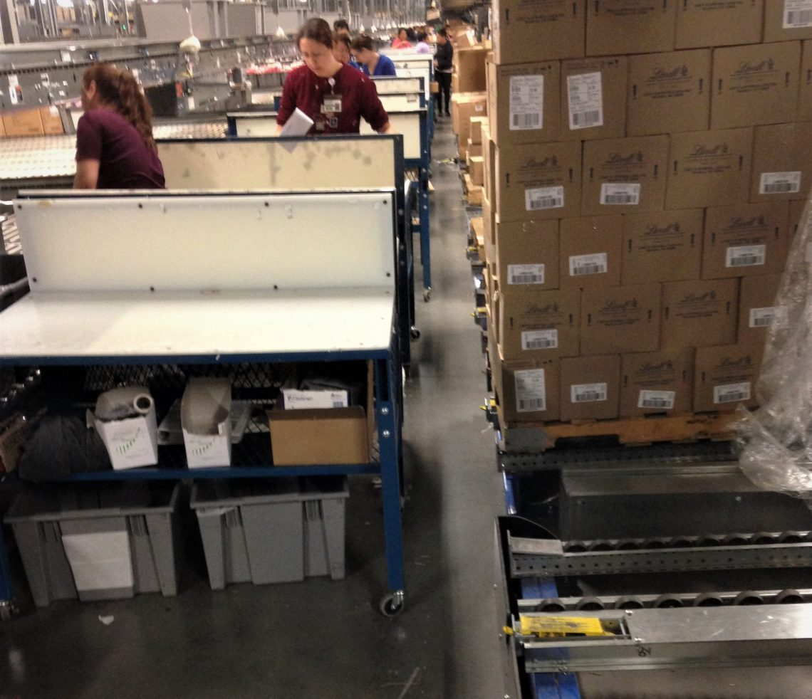 Pallet Flow Rack Case Picking - Mallard Manufacturing